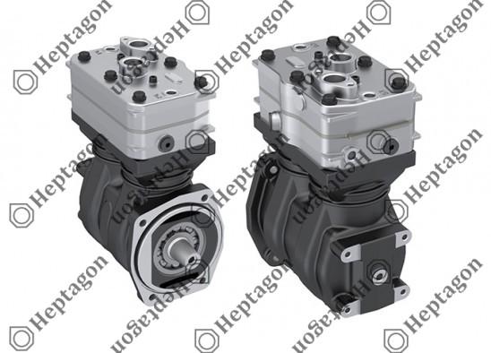 Twin Cylinder Compressor Ø75 mm-442 CC-Stroke 50 mm / 1001 342 007