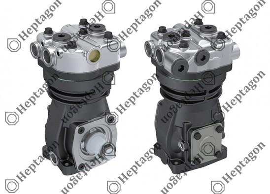 Single Cylinder Compressor Ø90 mm-293 CC-Stroke 46 mm / 1001 342 013