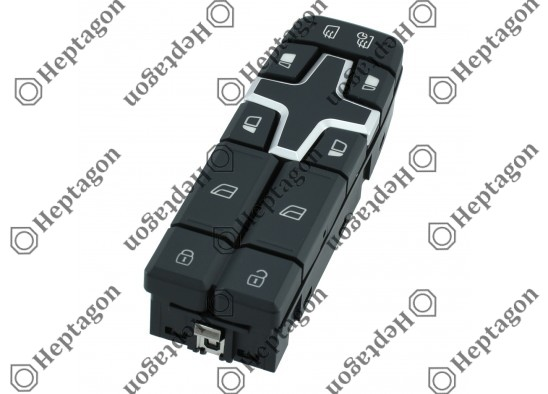 Volvo FH - FM Window Lifter Switch *NEW* / 8001 770 007 / 22154286