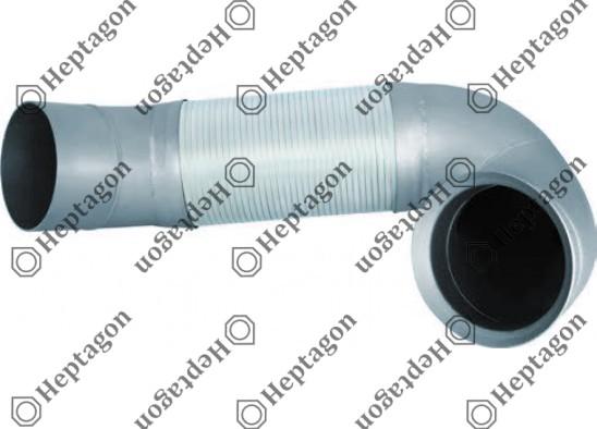 Exhaust Flexible Pipe / 4000 750 013 / 9484903919,  9484905219,  9424921619