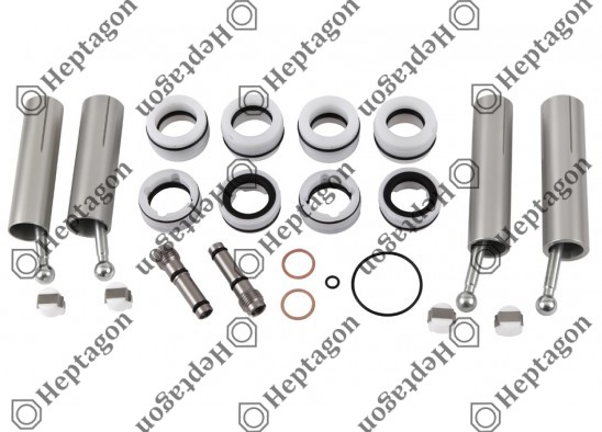 Gear Lever Actuator Full Repair Kit / 4000 970 003 / 0002604998,  0002605198,  Kongsberg No; 628043AM,  628040AM