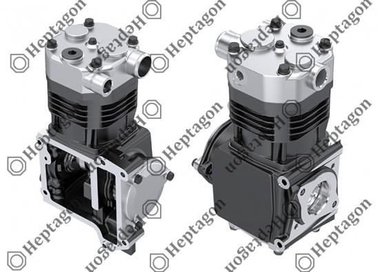 Single Cylinder Compressor Ø100 mm - 377 CC - Stroke 48 mm / 4001 341 006