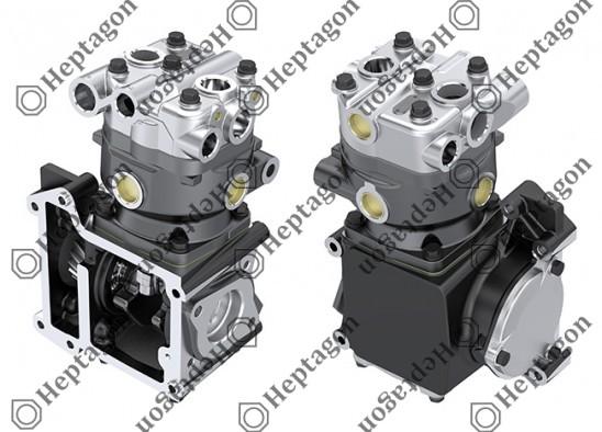 Single Cylinder Compressor Ø90 mm - 292 CC - Stroke 46 mm / 4001 341 015 / 4271300515,  4471300515,  4471300715
