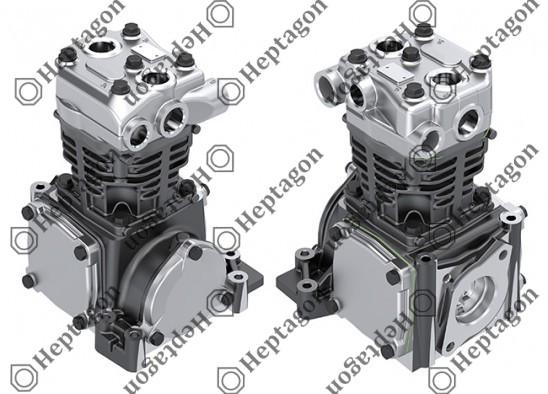Single Cylinder Compressor Ø90 mm - 292 CC - Stroke 46 mm / 4001 341 016