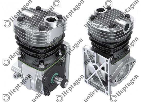 Single Cylinder Compressor Ø88 mm - 225 CC - Stroke 37 mm / 4001 341 021 / 0041319401,  004131940180,  0041319501,  004131950180,  0041317401,  0041317701
