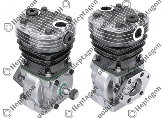 Single Cylinder Compressor Ø88 mm - 225 CC - Stroke 37 mm / 4001 341 024