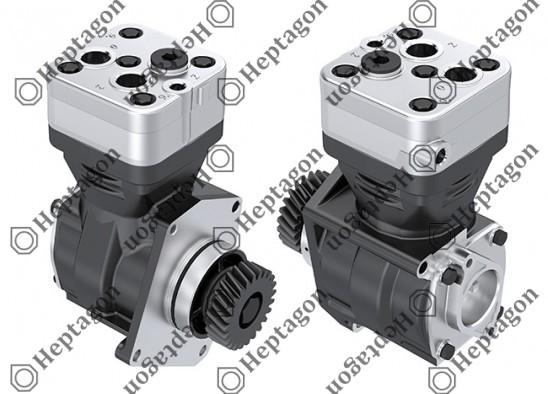 Single Cylinder Compressor Ø85 mm - 318 CC - Stroke 56 mm / 4001 341 028 / 9111530010, 4571300515