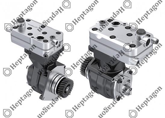 Single Cylinder Compressor Ø85 mm - 352 CC - Stroke 62 mm / 4001 341 042 / 4571301715,  4571302115,  4571302315,  4123520100,  4123520110,  4123520130,  4123520170