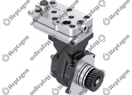 Single Cylinder Compressor Ø85 mm - 352 CC - Stroke 62 mm / 4001 341 048 / 4571301615,  4571301715,  4571302415,  4571304415,  4571302115,  4123520140, 4123520150,  4123520160