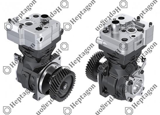 Single Cylinder Compressor Ø85 mm - 352 CC - Stroke 62 mm / 4001 341 055 / 9061303015,  9061304315,  9061301415,  4123520250