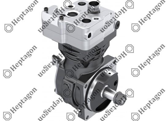 Single Cylinder Compressor Ø85 mm - 352 CC - Stroke 62 mm - Without gear / 4001 341 056