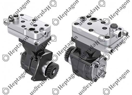 Single Cylinder Compressor Ø85 mm - 352 CC - Stroke 62 mm / 4001 341 063