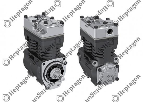 Twin Cylinder Compressor Ø78 mm-500 CC-Stroke 52 mm / 5001 342 006