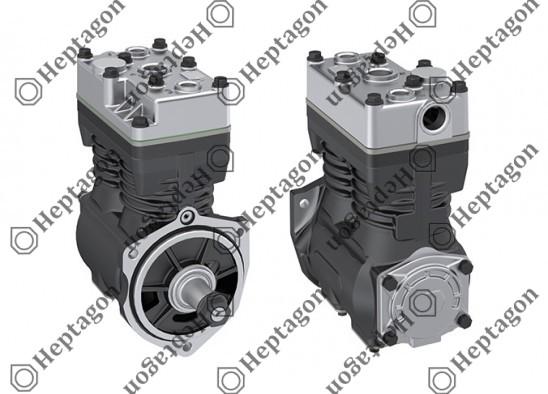 Twin Cylinder Compressor Ø78 mm-500 CC-Stroke 52 mm / 5001 342 010