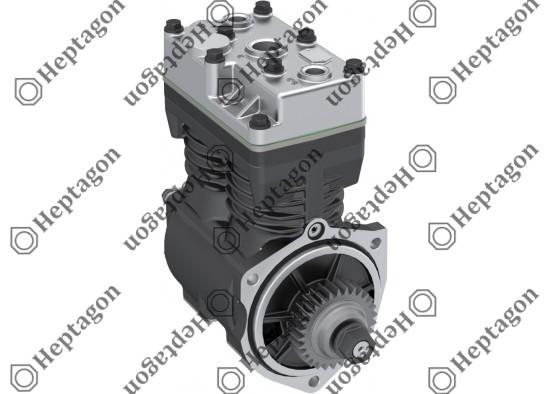 Twin Cylinder Compressor Ø78 mm-500 CC-Stroke 52 mm - With Gear / 5001 342 011