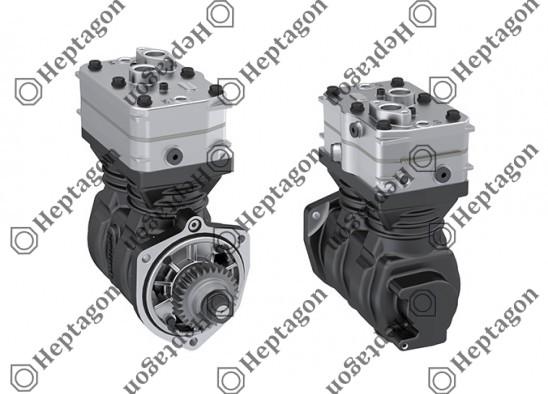 Twin Cylinder Compressor Ø75 mm-442 CC-Stroke 50 mm / 5001 342 013