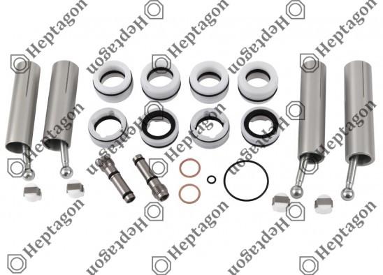 Gear Lever Actuator Full Repair Kit / 6000 970 003 / 81326556157,  81326556180,  Kongsberg No; 628072AM,  628075AM