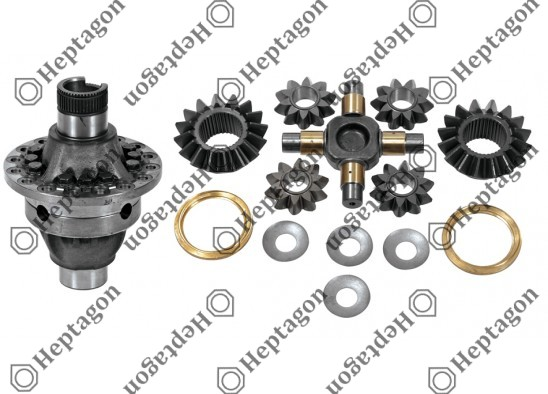 Small Differential Case - Old Type (Complete) / 6001 230 002 / 81351056030