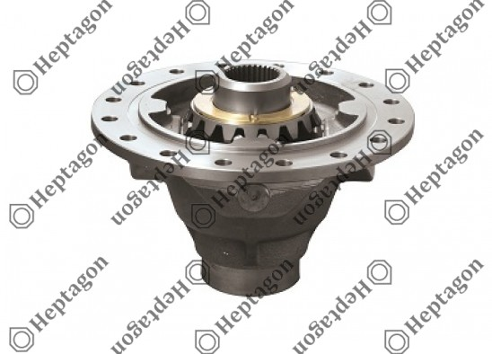 TGA Differential Case - Long (Complete) / 6001 230 018 / 81351053060,  81351050060