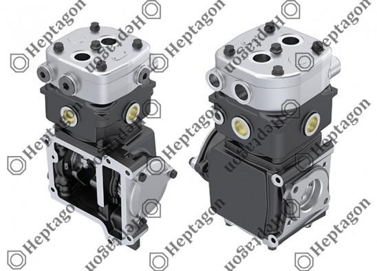 Single Cylinder Compressor Ø100 mm - 360 CC - Stroke 46 mm / 6001 341 001