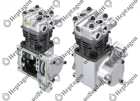 Single Cylinder Compressor Ø90 mm - 292 CC - Stroke 46 mm / 6001 341 010