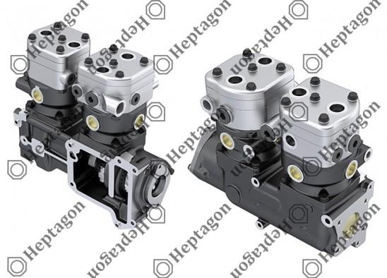 Twin Cylinder Compressor Ø90 mm - 547 CC - Stroke 46 mm / 6001 341 025 / 51541007066