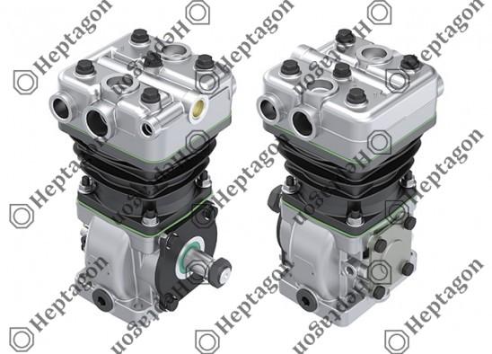 Single Cylinder Compressor Ø88 mm-225 CC-Stroke 37 mm / 6001 341 035 / LK3877,  K010751,  K097490N50,  K010751N50,  K010751X50