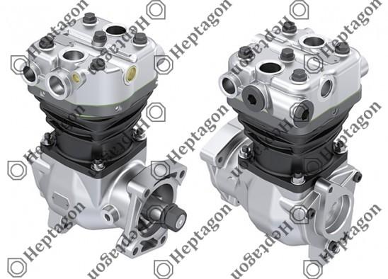 Single Cylinder Compressor Ø88 mm-300 CC-Stroke 50 mm / 6001 341 036
