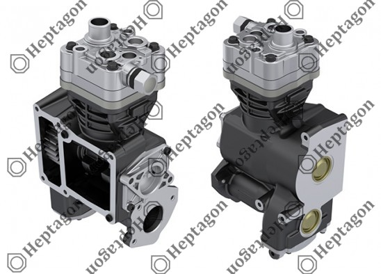 Single Cylinder Compressor Ø92 mm - 360 CC - Stroke 54 mm / 6001 341 042 / 51541007096,  LP3986,  K005977