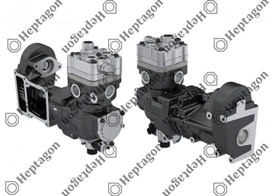 Single Cylinder Compressor Ø92 mm-360 CC-Stroke 54 mm / 6001 341 049