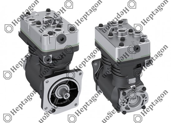 Twin Cylinder Compressor Ø88 mm-600 CC-Stroke 50 mm / 7001 342 004