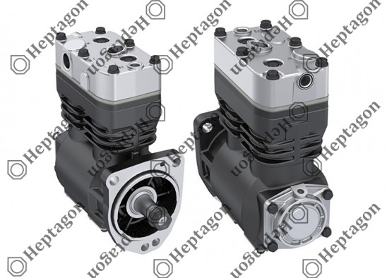 Twin Cylinder Compressor Ø75 mm-440 CC-Stroke 50 mm / 7001 342 023