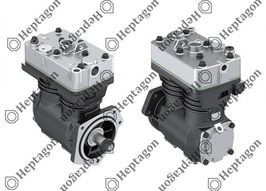 Twin Cylinder Compressor 600 CC / 8001 341 019