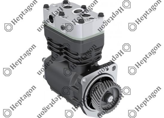 Twin Cylinder Compressor Ø75 mm-440 CC-Stroke 50 mm - With Gear / 8001 342 030