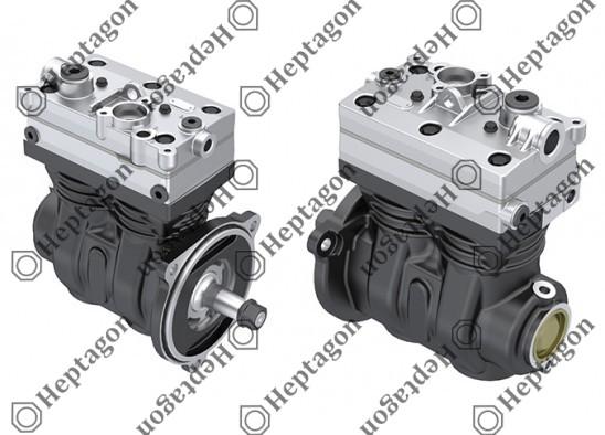 Twin Cylinder Compressor Ø85 mm-636 CC-Stroke 56 mm / 8001 342 035
