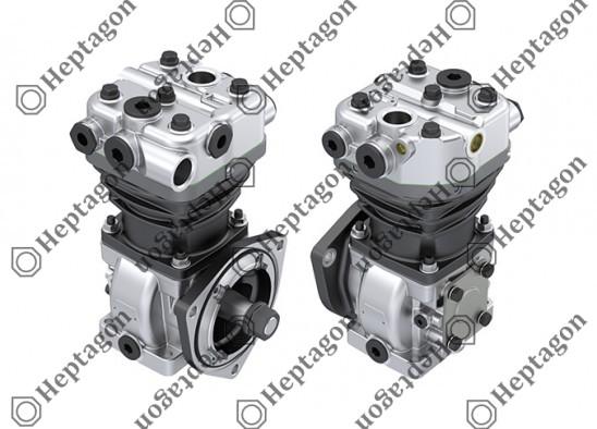 Single Cylinder Compressor Ø88 mm-300 CC-Stroke 50 mm / 8101 342 004 / 01177290,  01174519,  1173793,  LK3908,  I89875,  LK3902,  I89873
