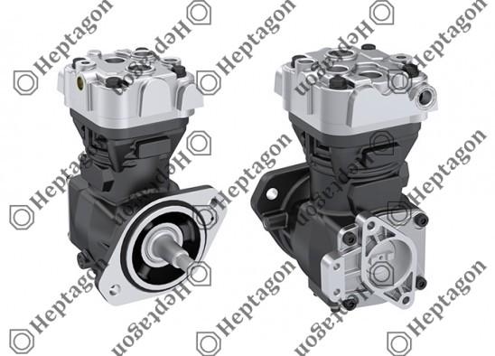 Single Cylinder Compressor Ø80 mm-225 CC / 8101 342 006 / 504016815,  5040080656,  LK3840,  K002141X00