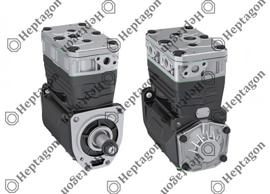 Twin Cylinder Compressor Ø82 mm-600 CC-Stroke 56 mm / 8101 342 007 / 500310903,  ACX83D,  K007254