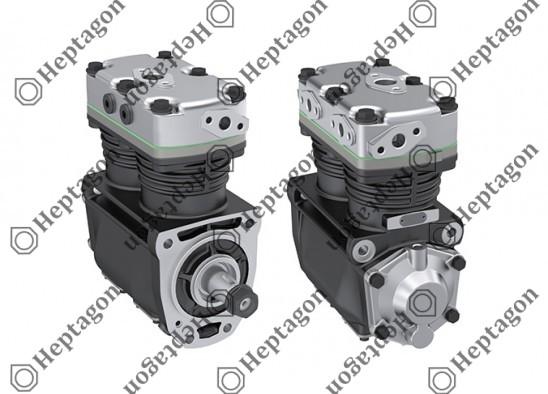Twin Cylinder Compressor Ø80 mm-400 CC-Stroke 40 mm / 8101 342 009