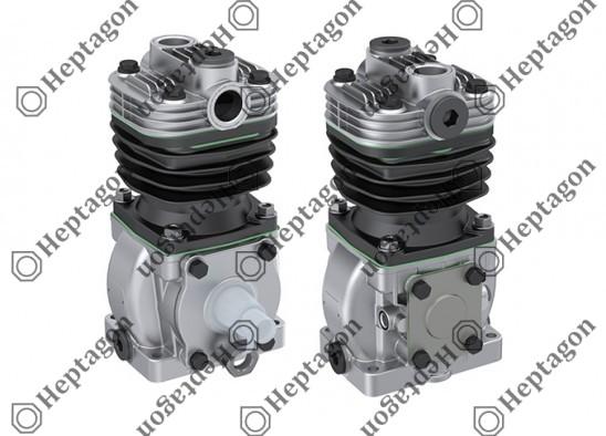 Single Cylinder Compressor Ø75 mm-300 CC-Stroke 50 mm / 8101 342 025 / 1173877,  01261659,  1261100,  008009674,  1173863,  1173876,  1173875,  42522661,  42522660,  LK1500,  I77107,  LK1503,  I78519,  LK1504,  I78520