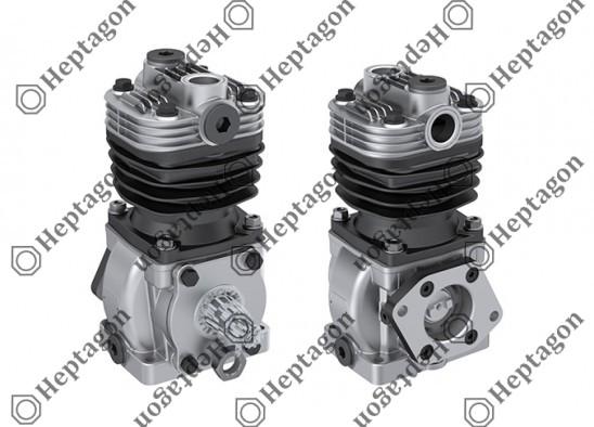 Single Cylinder Compressor Ø75 mm-155 CC-Stroke 35 mm / 8101 342 030 / LK1517 , I84947,  LK1520,  I84950,  LK1521,  I84951,  LK1522,  I84952
