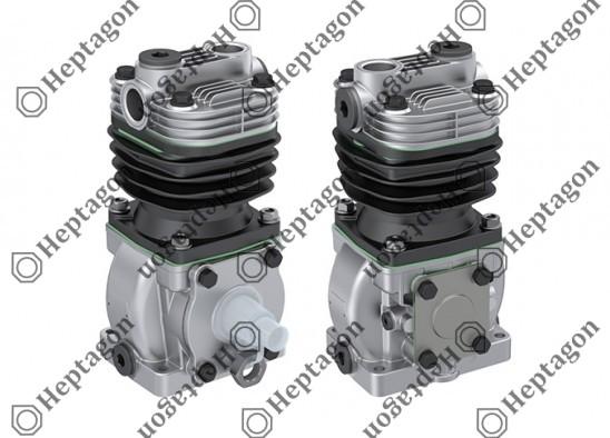 Single Cylinder Compressor Ø88 mm-300 CC-Stroke 50 mm / 8101 342 031 / 1178041,  1179099,  LK1523,  I84953,  LK1534,  I92972,  LK1543,  I97495,  LK1545,  I98498,  LK1560,  II17393
