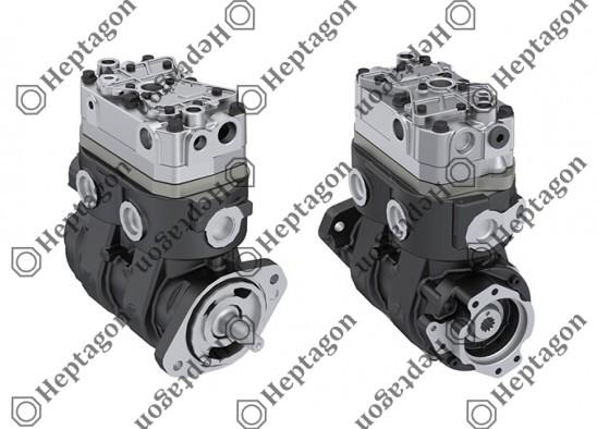 Twin Cylinder Compressor Ø86 mm- CC-Stroke mm / 8201 342 014 / LK4984,  K068756N00