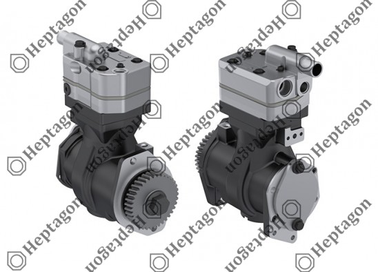 Single Cylinder Compressor 75 mm-247 CC-Stroke 56 mm / 8201 342 015