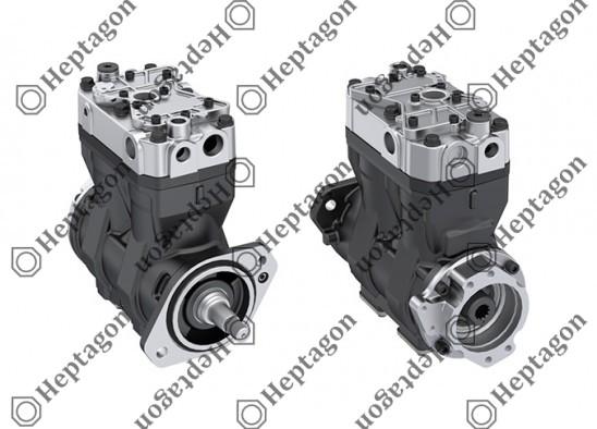 Twin Cylinder Compressor Ø86 mm-460 CC-Stroke 40 mm / 8201 342 023 / 5257939,  LP4865,  K033404N00
