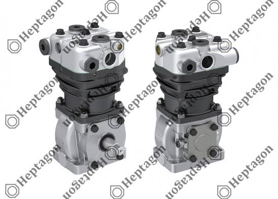Single Cylinder Compressor Ø88 mm-300 CC-Stroke 50 mm / 8301 342 001 / 01174474,  01173720,  11001360,  LK3904,  I78976