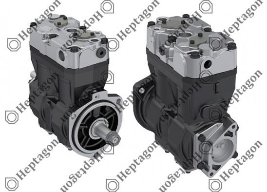 Twin Cylinder Compressor Ø86 mm-630 CC-Stroke 54 mm / 8301 342 004 / 7C46 2875 AD N,  7C462875ADN,  LK4958,  K094132N00