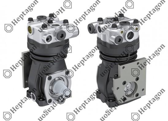 Single Cylinder Compressor Ø90 mm-229 CC-Stroke 36 mm / 8301 342 006 / 0041318601,  01173854,  4111426820,  4111428800