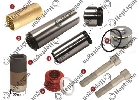 CALIPER PIN REPAIR KIT / 9104 120 212
