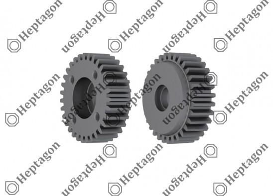 Gear / 9304 650 008 / K017284K50